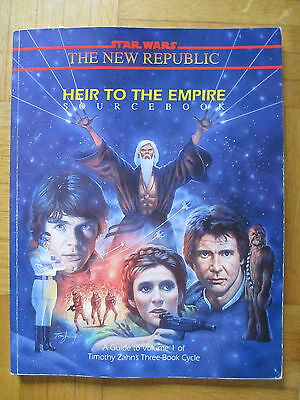 Star Wars – HEIR TO THE EMPIRE – 40068 Roleplayin Game Sourcebook Guide Zahn .