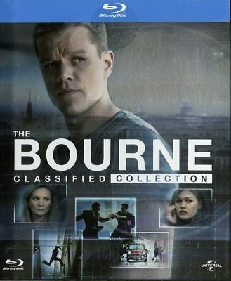 Box-the Bourne Classified Collection