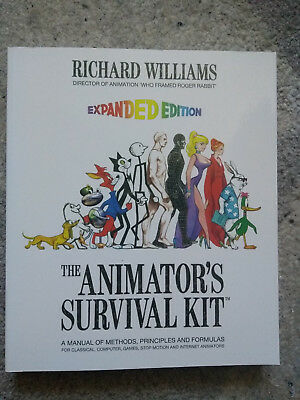 The Animator's Survival Kit - Expanded Edition (Animationlernbuch)