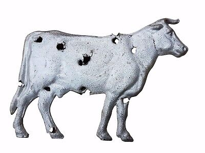 Mid 20thC American Folk Art Weathervane Cow