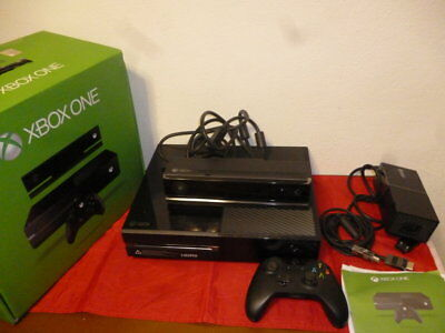 Xbox One 500 Gb Nera Console E Kinect _ Pal Xbox One