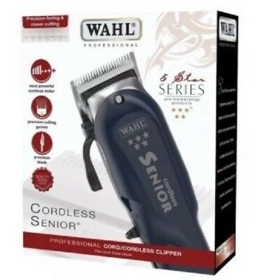 wahl senior cordless clippers brand new