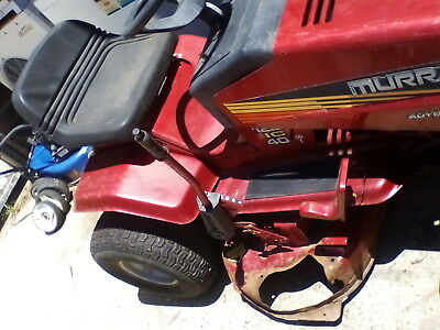 """MURRAY RIDE ON MOWER AUTOMATIC DRIVE 14.5 Hp 40"""" cut 6 level cut with battery"""