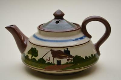 Torquay Cottageware Mottoware Pottery One Cup Teapot
