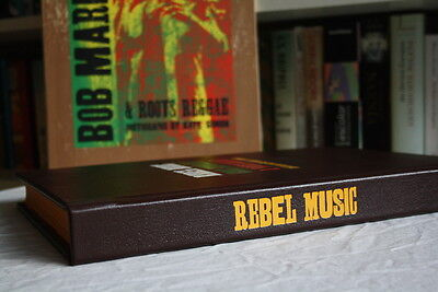 Bob Marley, 'Rebel Music' Genesis Publications deluxe, signed by Eric Clapton