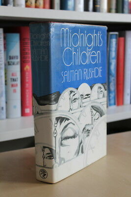 Salman Rushdie (1981) 'Midnight's Children', UK signed first edition 1/1 Booker