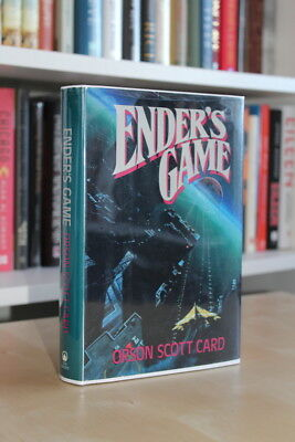 Orson Scott Card (1985) 'Ender's Game', signed US first edition 1/1 Tor Books