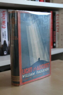 William Faulkner (1932) 'Light in August', US first edition, first state