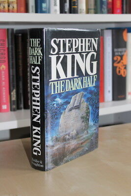Stephen King (1989) 'The Dark Half', UK signed first edition, great inscription!