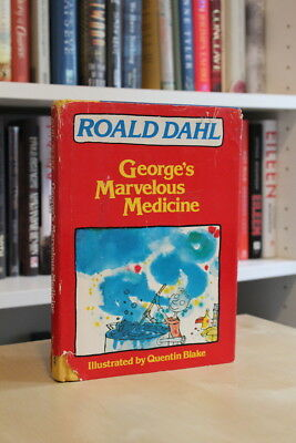 Roald Dahl (1982) 'George's Marvelous Medicine', US signed first edition 1/1
