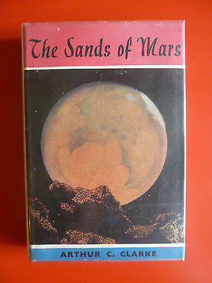 Arthur C Clarke, 'Sands of Mars', UK true first edition 1st/1st SIGNED