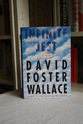 David Foster Wallace, 'Infinite Jest' SIGNED true first edition 1st/1st