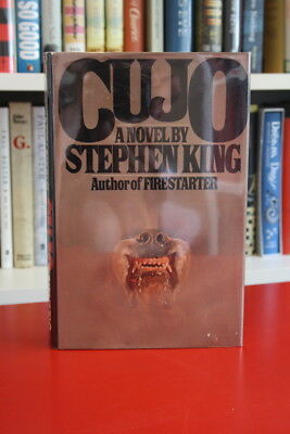 Stephen King (1981) 'Cujo', signed first edition 1/1
