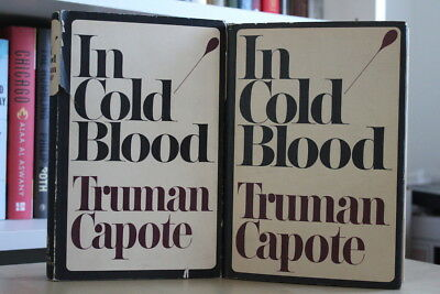 Truman Capote (1966) 'In Cold Blood' signed UK first edition and US first ed