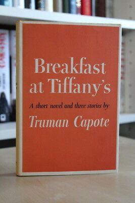 Truman Capote (1958) 'Breakfast at Tiffany's', US first edition, great condition