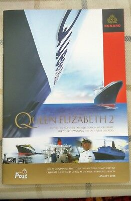 Qe2 Cunard Farewell Season 2008 - Isle Of Man Post