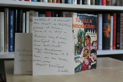 Harper Lee (1960) 'To Kill a Mockingbird', UK first edition + signed ALS
