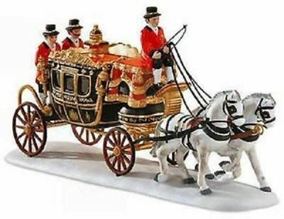 Dept 56 Dickens Village - The Queen's Parliamentary Coach - #58454 - Mint