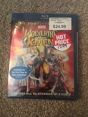 Brand New - Wolverine and the X-Men - Complete Series Animated - Blu-ray