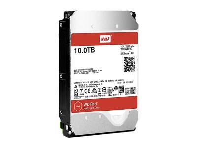 """WD RED 10TB SATA3 NAS System HDD 3.5"""" 5400RPM 256MB Cache WD100EFAX Hard Disk"""
