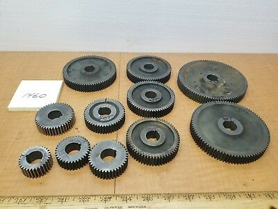 """hendey lathe 12"""" QCGB gears .812id .157 key .70 face price is for 1 gear"""