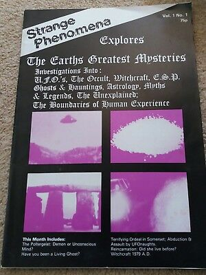 Strange Phenomena vintage Magazine Vol.1 No. 1 1979