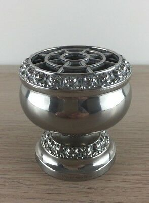 Small Ianthe Silver Plated Rose Bowl
