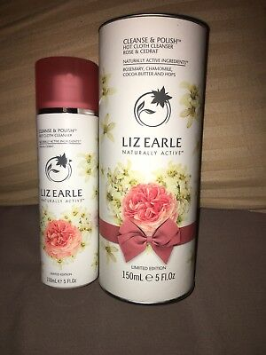Liz Earle Rose And Cedrat Limited Edition Cleanse And Polish 150ml No Cloths