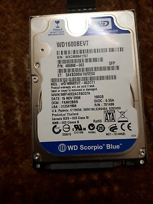 wd1600bevt - 60zct1
