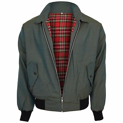 Relco Tonic Green Harrington Jacket Skin Mod Scooter Ska Northern Soul XS - XXXL