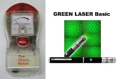 GHOST METER & LASER GRID Ghost Hunting Paranormal Equipment