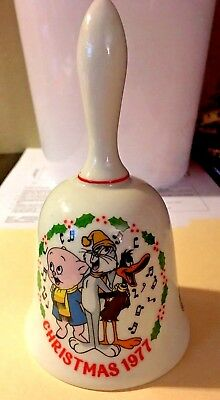 1977 Looney Tunes Holiday Bell 1st Limited Edition Daffy Bugs Porky Christmas