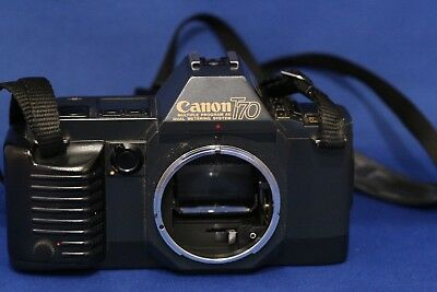 Vintage Canon T-70 35mm SLR Film Camera Body Only
