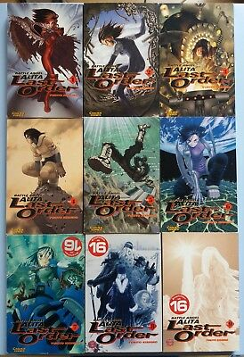 MANGA - Battle Angel Alita. Last Order, Band 1 bis 9