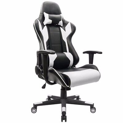 Homall Executive Swivel Leather Gaming Chair Racing Style High-back Office Ch...