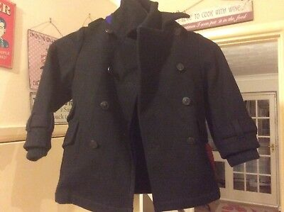 ted baker baby boy 3 To 4 Years Black Wool Coat