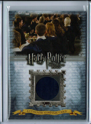 2009 Artbox Harry Potter Half Blood Prince Ravenclaw Students Costume Relic /170
