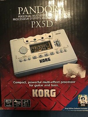KORG PANDORA PX5D Multi Effects Processor Guitar Headphone