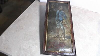 Pre-Prohibition Schlitz Soldier Metal Sign
