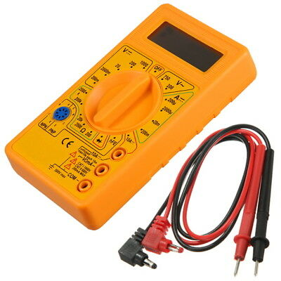 Tester Digitale Multimetro Elettrico M830 + Puntali Multimeter