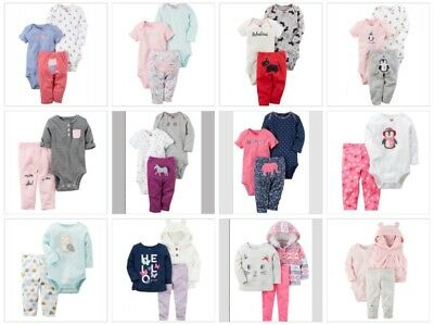 Carter's Mega Bundle- 7 Outfits for A 6 Month Old Baby Girl