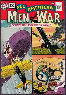 All-American Men of War # 89 VF- (1962) DC from Original Owner collection