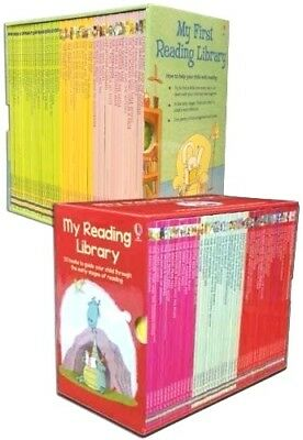 Usborne Very First Reading 100 Book Collection Set Complete Library for Children