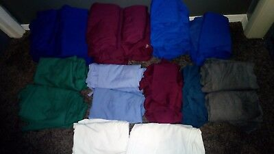 HUGE Lot of Women's Scrubs-MED-55+PAIRS/SETS-ButterSoft & Cherokee-FREE SHIP!!