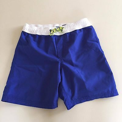 Old Navy AWESOME Royal Blue Swim Shorts. 6-8 years GREAT condition. UNIQUE!!