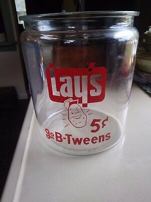 Vintage Lays Go B -Tweens 2 Gallon Jar