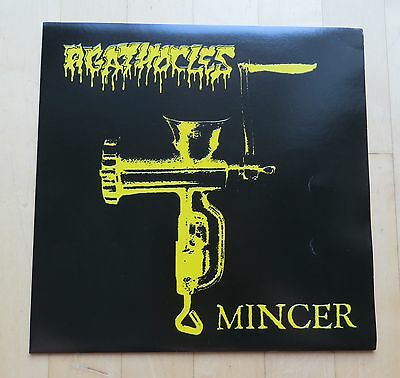 AGATHOCLES 2xVinyl - Set Mincer & Grind is Protest Grindcore Brutal Truth Nasum