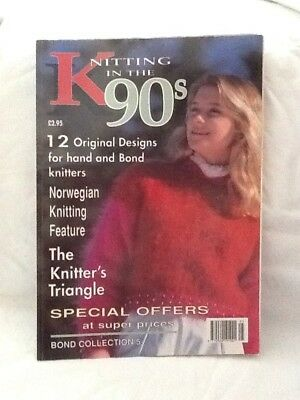 Bond Collection Knitting In The 90's Pattern Book No 5 For Bond Knitting Machine