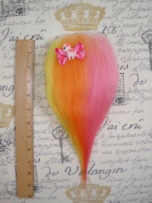 Troll Doll Wig Hair Mohair Replacement for Vintage or New Dam Scandia Wishnik f