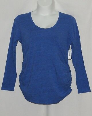 XL Maternity Blouse OLD NAVY Pregnancy Top NEW 2017 NWT Black Blue X LARGE 16